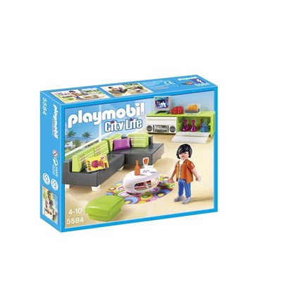 PLAYMOBIL Coffret salon - multicolore