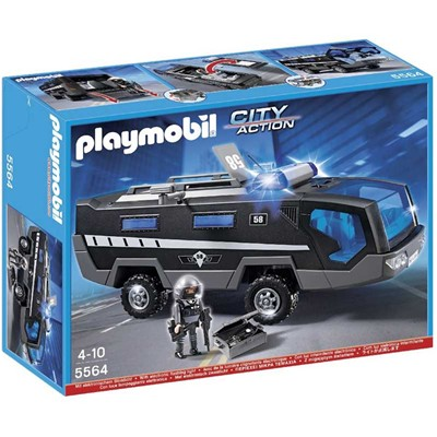 PLAYMOBIL Coffret intervention - multicolore