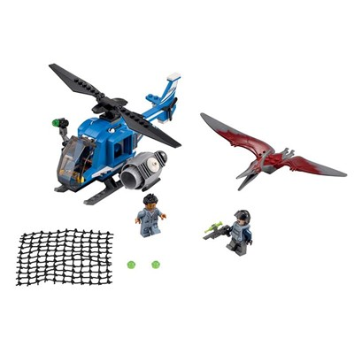LEGO Jurassic - Kit capture du Pteranodon - multicolore
