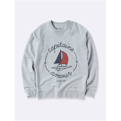 Capitaine - Sweat-shirt - gris chine
