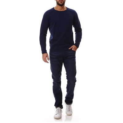 JACK & JONES Union - Pull - bleu marine
