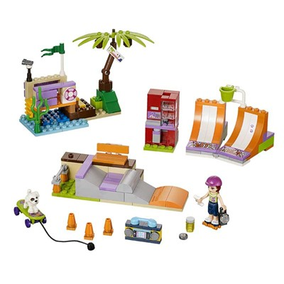 LEGO Friends - Skatepark - multicolore