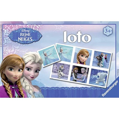 RAVENSBURGER Frozen - Loto Frozen - multicolore