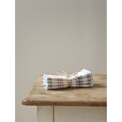CYRILLUS Lot de 4 serviettes de table - beige