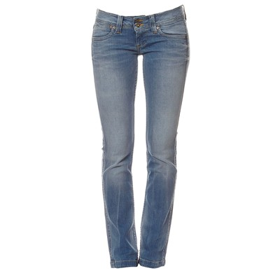 Pepe Jeans London Banji - Jean recto - denim azul