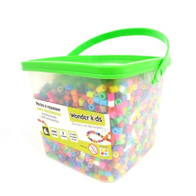 WONDERKIDS Baril de recharge de 5000 perles - multicolore