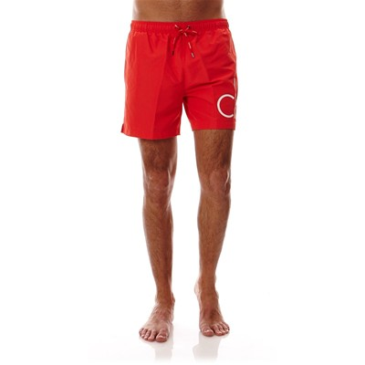 CALVIN KLEIN UNDERWEAR MEN Bas de maillot - orange/blanc