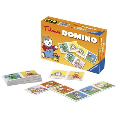 RAVENSBURGER T'choupi - Domino - multicolore