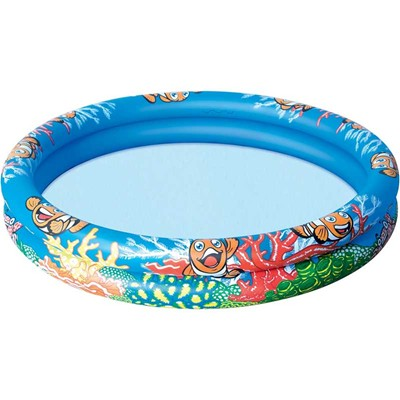 Piscine 2 boudins - multicolore