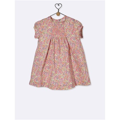 CYRILLUS Robe blousante - multicolore