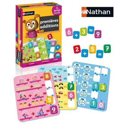NATHAN Nathan - Premières additions - multicolore