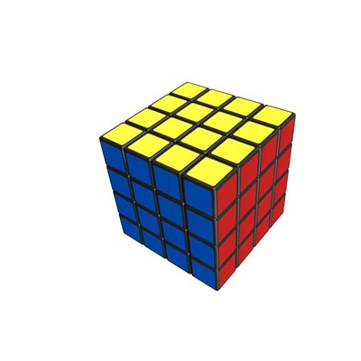 WIN GAMES Rubik's cube 4x4 - multicolore