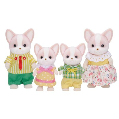 EPOCH D'ENFANCE Sylvanian Family - Famille chihuahua - multicolore