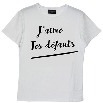 FRENCHCOOL Top/tee-shirt - blanc
