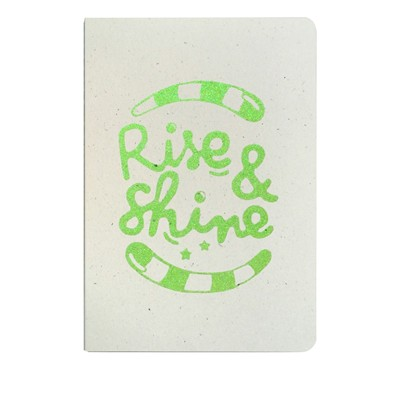 THE COOL COMPANY Rise and shine - Carnet paillettes - mousse