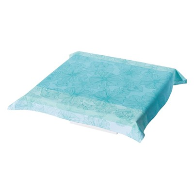 So bloom - Nappe enduite - turquoise
