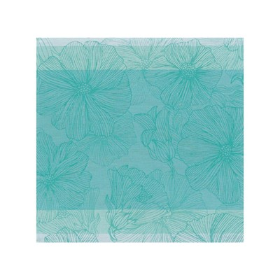 LJF BY So bloom - Serviette de table - turquoise