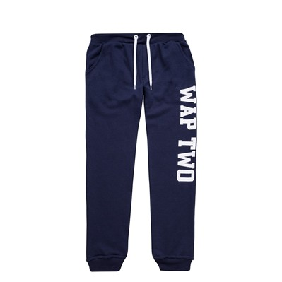WAP TWO Coat - Pantalon jogging - bleu marine