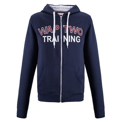 WAP TWO Camp - Sweat à capuche - bleu marine