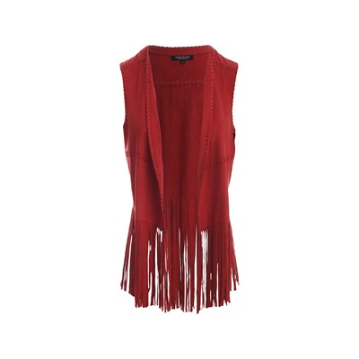 MORGAN Gilet - rouge