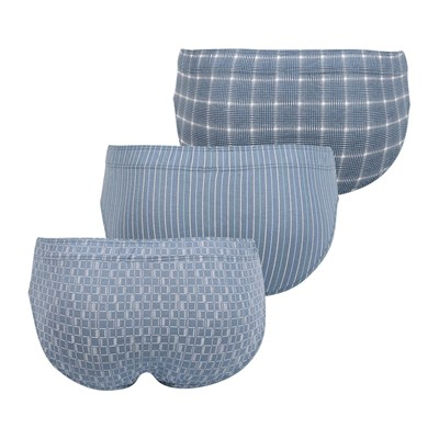 EMINENCE Fantaisie - Lot de 3 slips - gris