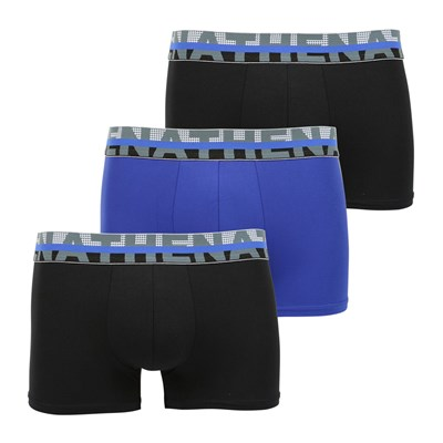 ATHENA Black - Lot de 3 boxers - noir