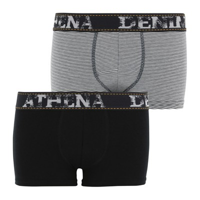 ATHENA Denim - Lot de 2 boxers - bicolore