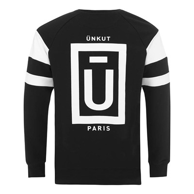 ÜNKUT Concrète - Sweat-shirt - noir