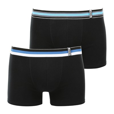 ATHENA Easy Color - Lot de 2 boxers - noir