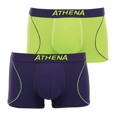 ATHENA Freemotion - Lot de 2 boxers - multicolore