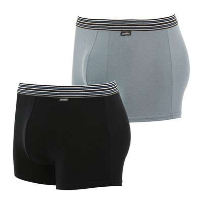 ATHENA Eco Pack - Lot de 2 boxers - bicolore