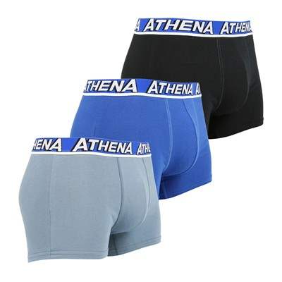 ATHENA Free Motion - Lot de 3 boxers - tricolore
