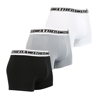 ATHENA Pulse - Lot de 3 boxers - tricolore