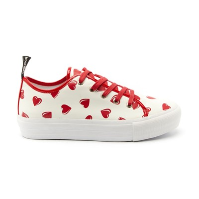MOSCHINO MOM - Sneakers en cuir - blanc