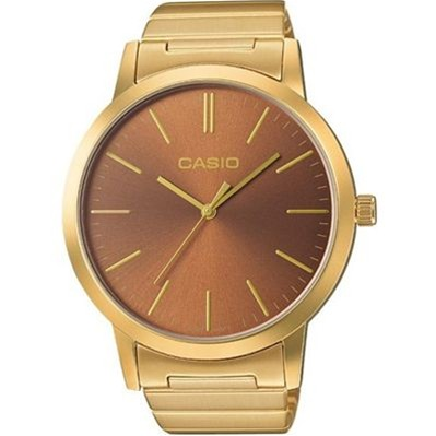 Casio Casio collection retro - montre bracelet en acier - doré