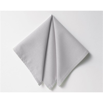 BECQUET Lot de 3 serviettes - ecru