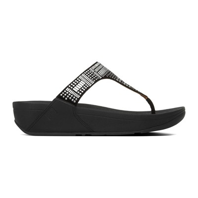 FITFLOP Aztec chada - Tongs - noir