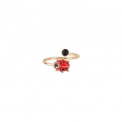 Lady bird - Bague - rouge