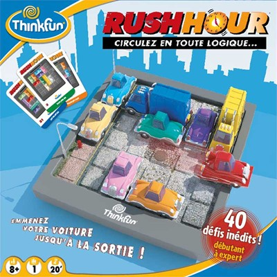 ASMODEE EDITIONS Rush hour - multicolore