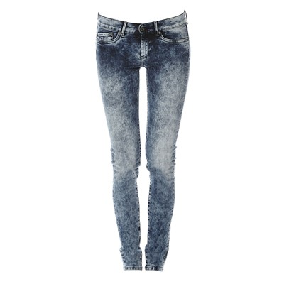 PEPE JEANS LONDON Pixie - Jean slim - denim bleu