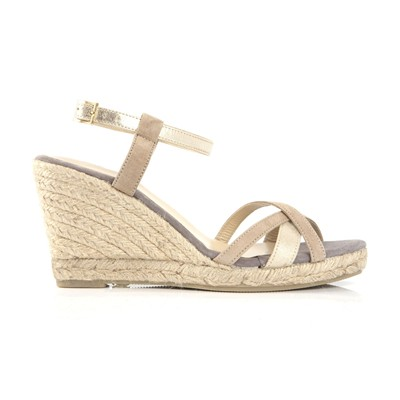 MELLOW YELLOW Vepeps - Sandales en cuir - taupe