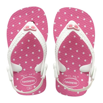 HAVAIANAS Baby Chic - Tongs - rose