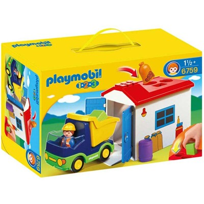 PLAYMOBIL Garage des formes - multicolore