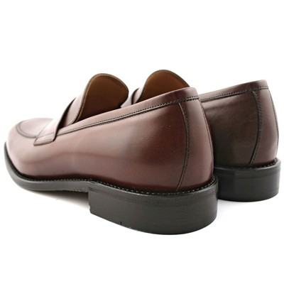 EXCLUSIF PARIS Guest - Mocassins en cuir - marron