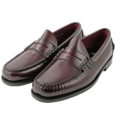 EXCLUSIF PARIS Harvard - Mocassins en cuir - bordeaux