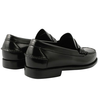 EXCLUSIF PARIS Harvard - Mocassins en cuir - noir