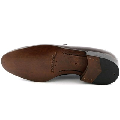 EXCLUSIF PARIS Mathias - Mocassins en cuir - marron