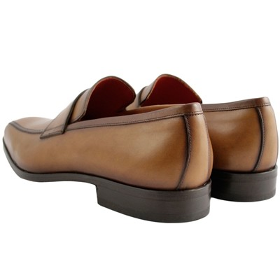 EXCLUSIF PARIS Ryan - Mocassins en cuir - marron