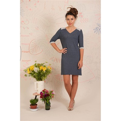 Back - Robe courte - gris chine