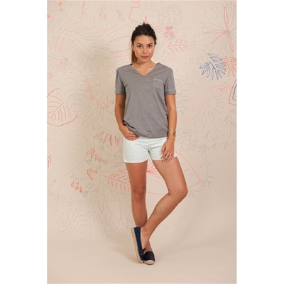 Garett - Mini short - blanc